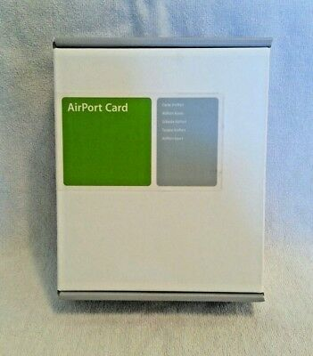 Apple AirPort Card M7600LL/E, NEW, FACTORY SEALED IN RETAIL BOX