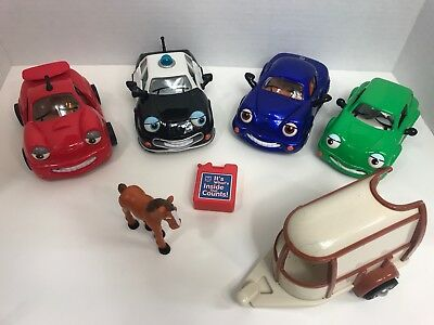 "Lot of 5 Vintage 90s 00s ""The Chevron Cars"" Gas Oil Tony Patty Pax Kelly Trailer"