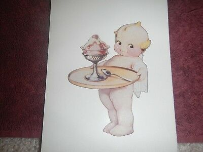 """Antique Ice Cream Collectible  Advertising By Rose O""""neill (5)"""
