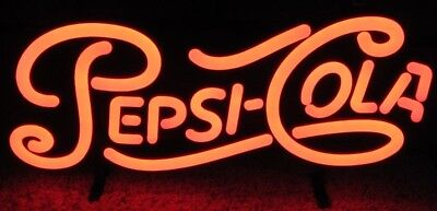 """Official Pepsi Cola LED/Neon Style Light """"Zeon"""" Made USA Brand New in Box"""