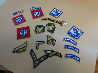 Vintage Army Patches-Insignia Collection