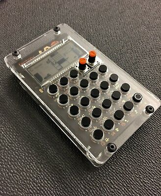 New Pocket Operator DIY case kit by Dich Studios Clear