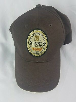 Official Guiness Extra Stout Beer Baseball Hat Cap