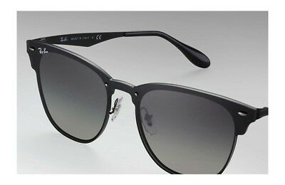 441ce8e587 RAY-BAN BLAZE CLUBMASTER RB 3576N 153 9A Flat lens. Color  Black ...