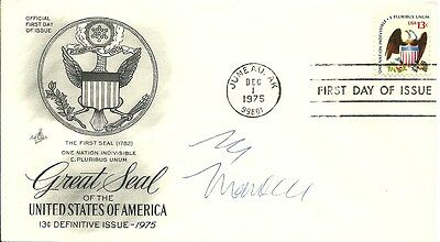 Vice President Walter Mondale Signed American Eagle One Nation Indivisible Fdc