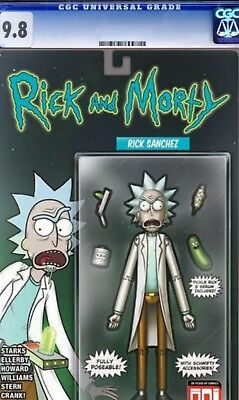 Rick And Morty 42 Cgc 9.8 Mike Vasquez Action Figure Variant Ltd 500 Made 1