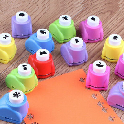 22 Styles Mini Scrapbook Hole Punches Handmade Cutter Card Craft DIY Paper Cut