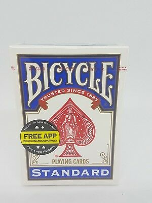 Blue Back Bicycle Standard Playing Cards (Brand New & Sealed)
