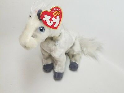 TY Beanie Baby - LIGHTNING the Horse- with Tags - RETIRED 532a2047b1b