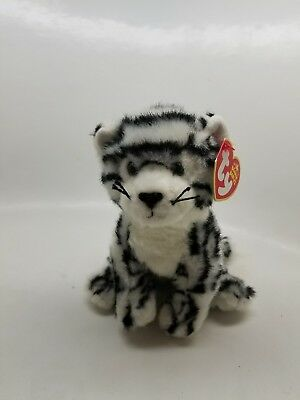 2c47d3e497a TY Beanie Baby - TUNDRA the White Tiger (6 inch) - Stuffed Animal Toy