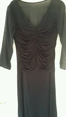 """L K Bennett """"dr Anis ' Black Cocktail Dress 10. New With Tags"""