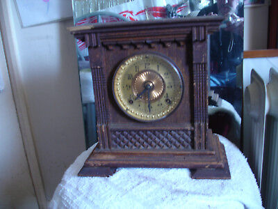 Ansonia 1882 clock Eight Day Salem Strike New York USA