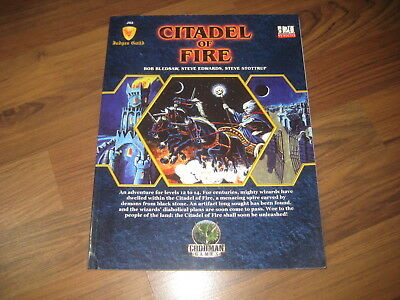 d20 JG2 Citadel of Fire Adventure Judges Guilde Goodman Games SC 2007 GMG4601
