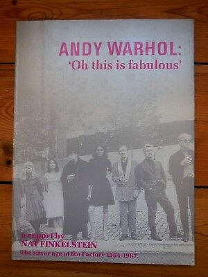 "ANDY WARHOL. ""oh this is fabulous"" a report by Nat Finkelstein. 1964-1967"