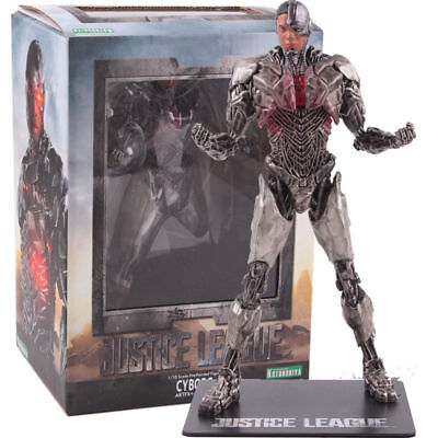 1/10 DC Justice League Cyborg Pre-Painted Artfx+ Statue Action Figures Toy