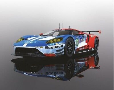 Scalextric 1:32 Ford GT-GTE #66 UK LeMans 2017 HD