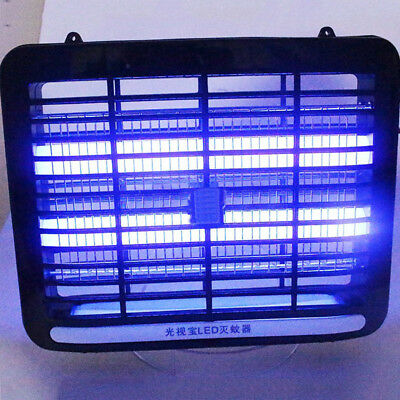 UV LED Light Electronic Fly Killer Home Indoor Mosquito Insect Bug Zapper Trap