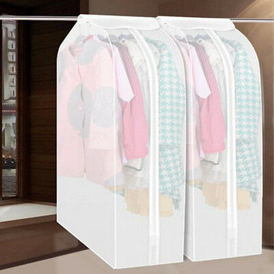 Garment Clothing Dress Suit Coat Dust Cover Protective Wardrobe Storage Bag New
