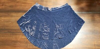 Bullet pointe skirt Navy Blue size extra small