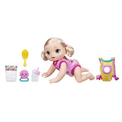 Baby Alive Baby Go Bye Bye Blonde Hair Kids Girls Interactive Doll Toy Gift Play