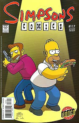 Simpsons Comics 117 Bongo 2006 Sandwiches Are Forever  Templeton Pepoy
