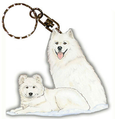 Samoyed Key Ring