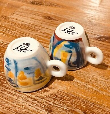 ILLY COLLECTION 1993 Tazas Café ED. LIMITADA