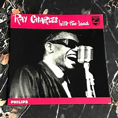 """Ray Charles 7"""" nur only Cover Hits the Road EP !!! 60er Soul !!!"""