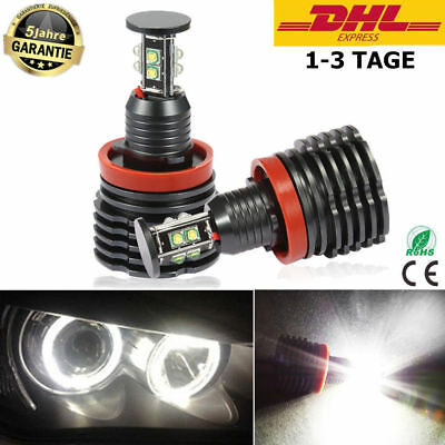 H8 Led Angel Eyes Standlicht Bmw E60 E61 E71 E70 Lci E90 E91 X1 X5 X6 Z4 E92 *2