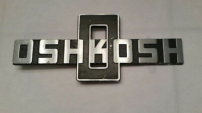 Oshkosh truck emblem military and construction vehicals Oshkosh Wisconsin