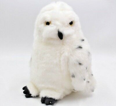 New Wizarding World of Harry Potter Universal Studios Hedwig Owl Soft Plush Toy