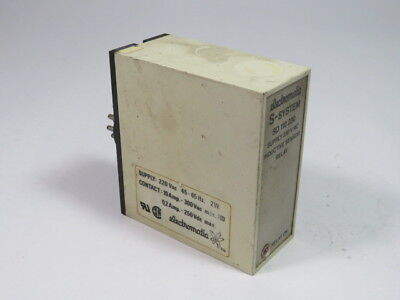 Electromatic SD110230 Inductive Sensor Relay 230VAC  USED