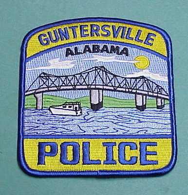 Guntersville  Alabama  Al  ( Bridge )   Police Patch   Free Shipping!!!