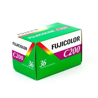 Fujifilm Fujicolor C200 36exp 35mm ISO 200 Best Cheap Fuji Colour Camera Film