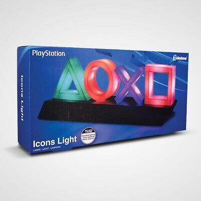 Playstation Buttons Icons Light by Paladone Products NEW 14""