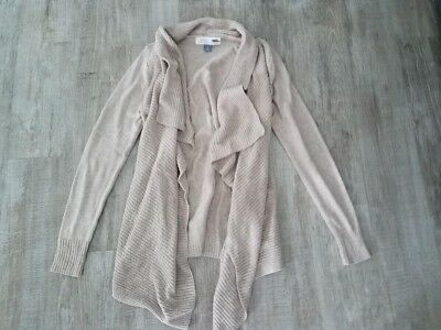 Old Navy maternity sweater cardigan tan beige size small, new without tags NWOT