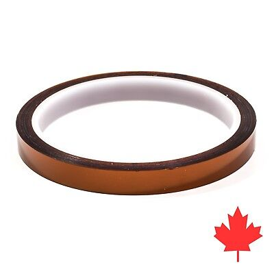 Kapton Tape, 10 mm x 33 m meter, Heat Resistant Polyamide Tape High Temperature