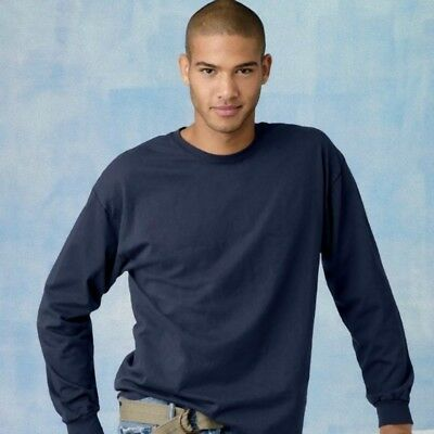 SPECIAL! Men's 1st Quality Long Sleeve Tee (Lots of 36)