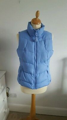 Joules  bluebell  ladies gilet size 10