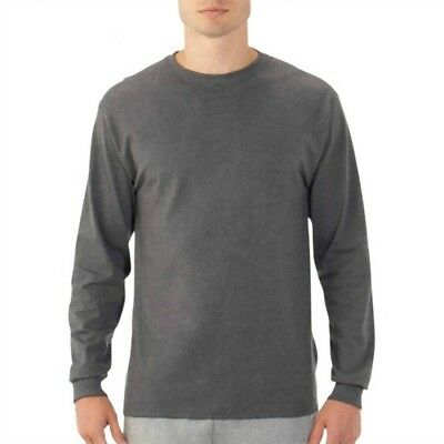 Big Men's 1st Quality Long Sleeve Tee (Lots of 36)