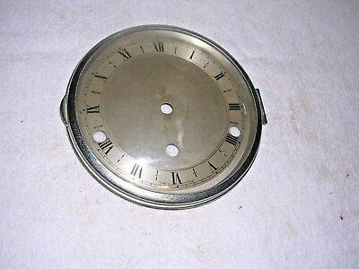 Clock  Parts , Chrome Bezel,convex  Glass