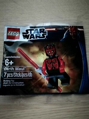 Star Wars Lego Mini Figure SHIRTLESS DARTH MAUL polybag New Sealed Exclusive