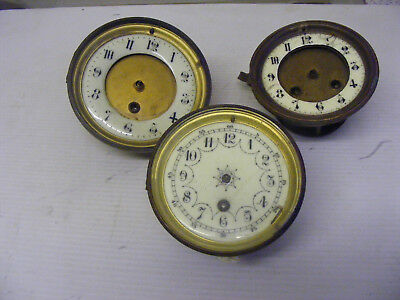 Old Clock Parts For ( Spares Or Repair )