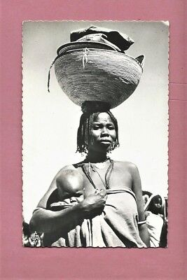 Vintage Unused Postcard - African Woman And Young Child