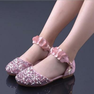 Hot Sale Princess Shoes Kids Girls Dress Shoes Party Dresses Xmas Gift for Girls