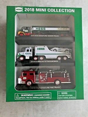 2018 Hess Mini Truck Collection-Brand New in Box-Limited Edition Toy-FAST SHIP!!