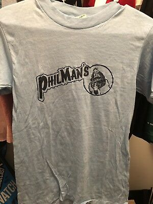 Vintage Extremely Rare Philman's T Shirt Tees 90's/80's
