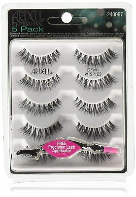 ARDELL 5 Pack Demi Wispies Black 240097-5 pack (5 pairs)