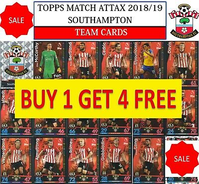 Topps Match Attax 2018 2019 18 19 Choose your SOUTHAMPTON  team cards