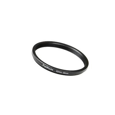 Fotodiox Metal Step Down Ring Filter Adapter, Anodized Black Aluminum 62mm-58...